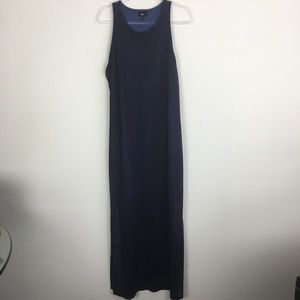 Mossimo Size XXL Navy Maxi Dress Lined NWT P31